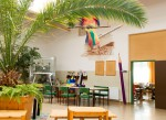 Aula der Volksschule Senftenberg