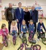 Laufräder für den Kindergarten