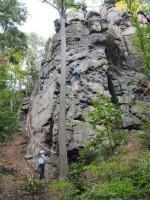 Eröffnung Kletterwand