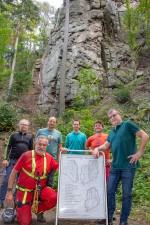 Kletterwand Senftenberg - Eröffnung