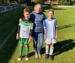 Fußballduell der Volksschüler